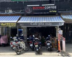 Sang quán cà phê ROVINA COFFEE